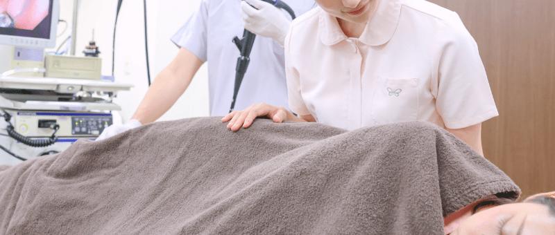 検査補助 スコープ洗浄
