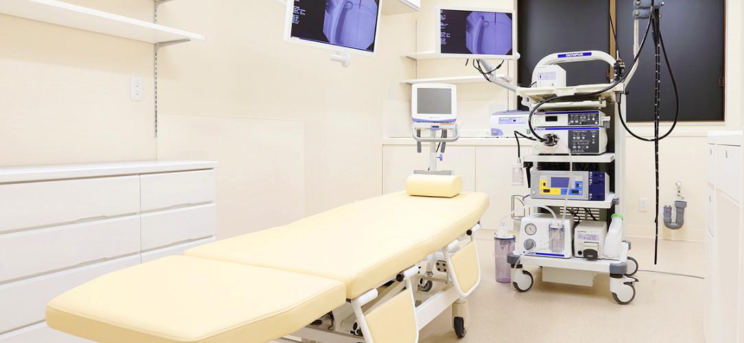 当院の大腸内視鏡検査の特徴のイメージ