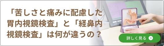 「苦しさと痛みに配慮した胃内視鏡検査」と「経鼻内視鏡検査」は何が違うの?