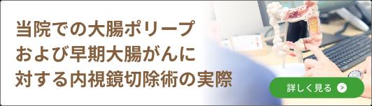 当院での大腸ポリープおよび早期大腸がんに対する内視鏡切除術の実際