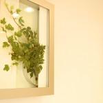 待合室の壁面アートイメージ