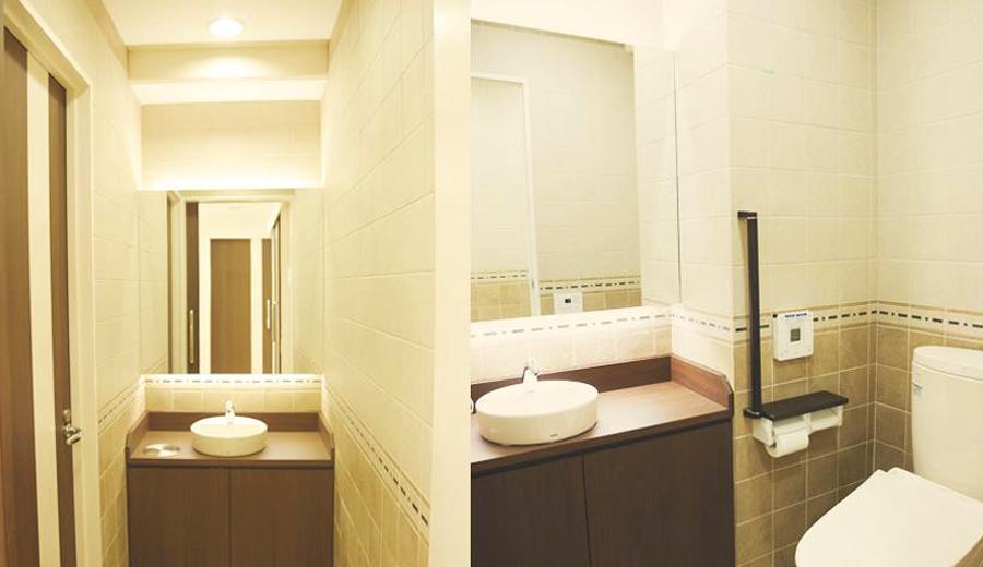 男女別々のトイレのイメージ