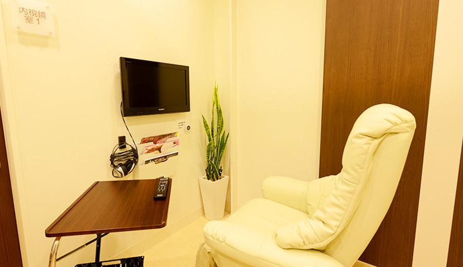 プライバシーに配慮した個室仕様のリラックスソファー